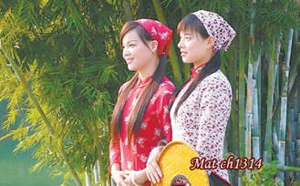 傳統客家女性的頭巾與冬頭帕風俗