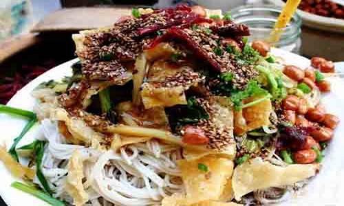 海南島非吃不可的特色小吃-靈山粗粉